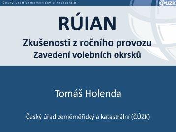 RÚIAN Registr územní identifikace, adres a ... - Egovernment