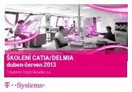 Školení Catia delmia duben-červen 2013 - T-systems