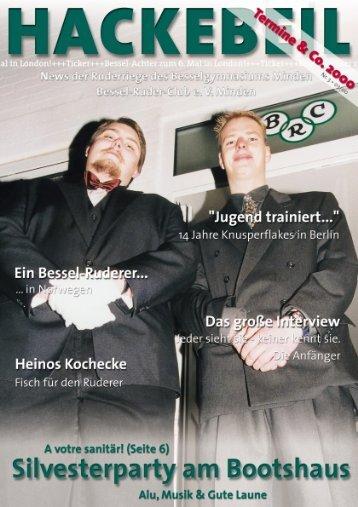 """Die """"ewige"""" Kilometer-Besten-Liste DRV-Fahrtenabzeichen 1999"""