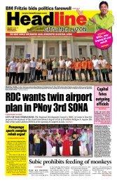 P a m p a n - g a - Headline Gitnang Luzon