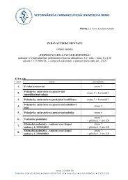 0 - ZD..pdf - Veterinární a farmaceutická univerzita Brno