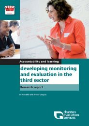 Research report accountability and learning CES - The Social Audit ...