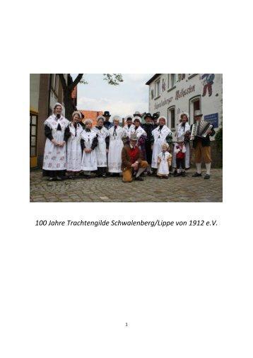 26. Internationales Trachtenfest Schwalenberg vom 03. August bis ...