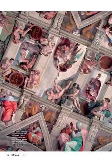 Sikstuksen kappelin freskot uhmaavat aikaa - Kemia-lehti