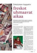 Sikstuksen kappelin freskot uhmaavat aikaa - Kemia-lehti - Page 2