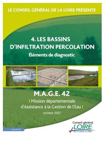 Les Bassins d'Infiltration Percolation - Epnac