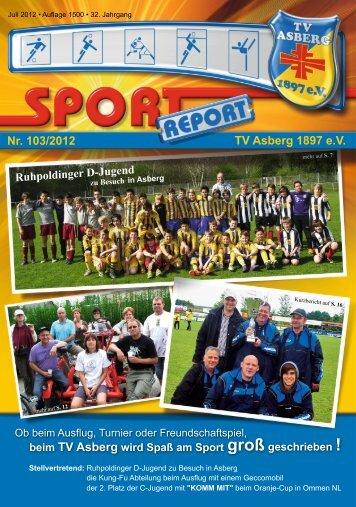 Nr. 103/2012 TV Asberg 1897 e.V.