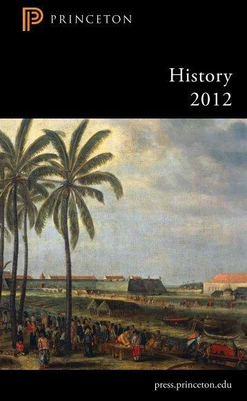 History 2012 - Princeton University Press