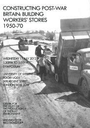 Flyer Leverhulme end-of-project event2.pdf - Construction Labour ...