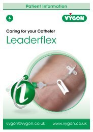 Leaderflex Patient Information - Vygon (UK)