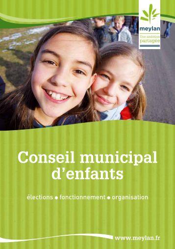 Plaquette explicative du Conseil municipal d'enfants - Site de la ...