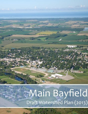 Draft Watershed Plan (2013) - Ausable Bayfield Conservation ...