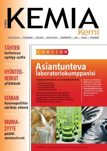 Kemiaa - Kemia-lehti