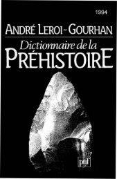 91-92.Dictionnaire Préhistoire