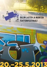 Esite (pdf) - Oulun kaupunginteatteri