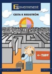 Cesta k registrům - Egovernment