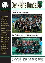 Goldteam Damen - Dortmunder Hockey-Gesellschaft eV