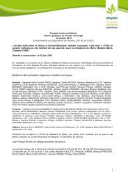 115_CR conseil municipal 24 juin 2013 - Site de la mairie de Meylan