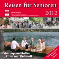 Reisen für Senioren - Diözesan-Caritasverband für das Erzbistum ...