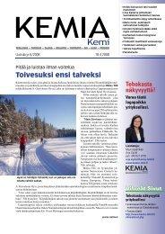 Uutiskirje 6/2008 18.04.2008 pdf - Kemia-lehti