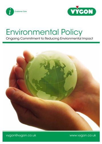 Environmental Policy (200KB) - Vygon