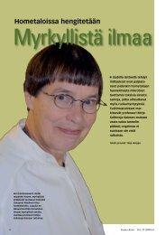 Myrkyllistä ilmaa - Kemia-lehti