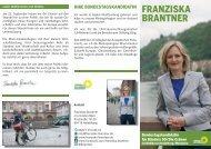 FRANZISKA BRANTNER - Die Grünen