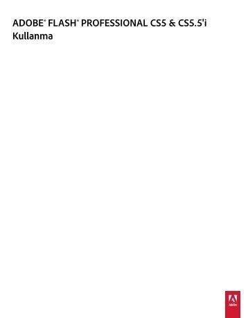 Flash Cs5.5 Türkçe Eğitim Kitabı (Adobe.com-Pdf)