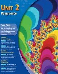 Chapter 4: Congruent Triangles - Birdville Independent School District