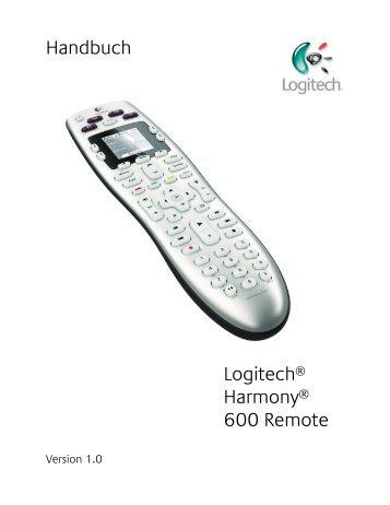 Verwenden der Harmony 600 - Logitech