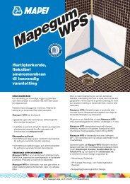 Teknisk datablad - Mapei