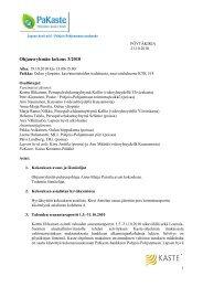 Ohjausryhman kokouksen poytakirja 19102010.pdf - Sosiaalikollega