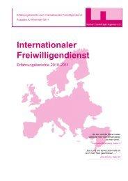Internationaler Freiwilligendienst - Kölner Freiwilligen Agentur