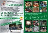 15.Adventsmarkt - Spektakel Rheinberg eV