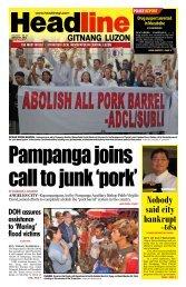 Nobody said city bankrupt --EdSa - Headline Gitnang Luzon