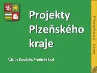 Projekty plzeňského kraje - Egovernment
