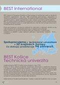 ANNUAL REPORT - BEST Košice - TUKE - Page 5