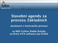 Prezentace aplikace PowerPoint - Egovernment