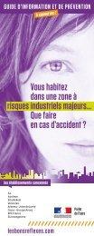 Téléchargez la brochure - Risques Industriels Majeurs - Campagne ...