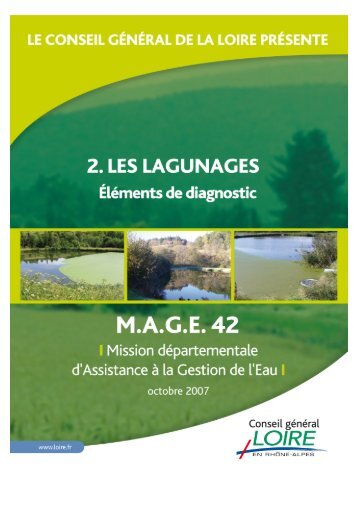 Les Lagunages – Eléments de diagnostic - Epnac