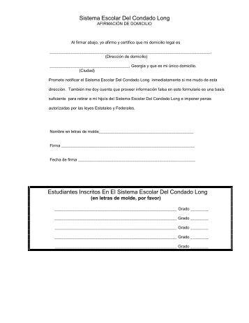 Sistema Escolar Del Condado Long - Long County Schools
