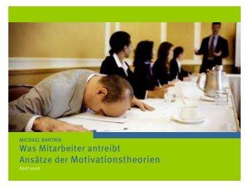 Ansätze der Motivationstheorien - michael-bartnik.de
