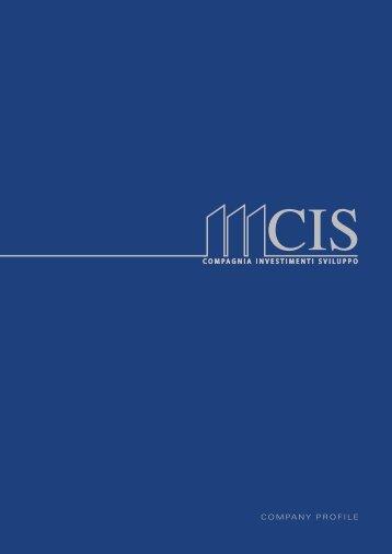Brochure CIS - Gruppo Industriale Tosoni