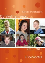 Opiskelijan opas - Kiipula, Kiipulan koulutus