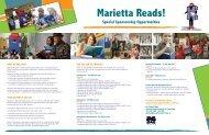Corporate/Business Sponsor opportunities - Marietta Reads!
