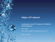 Vítejte v ICT oblacích - Egovernment