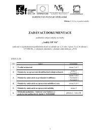 Příloha č - Veterinární a farmaceutická univerzita Brno