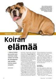 Koiran elämää - Kemia-lehti