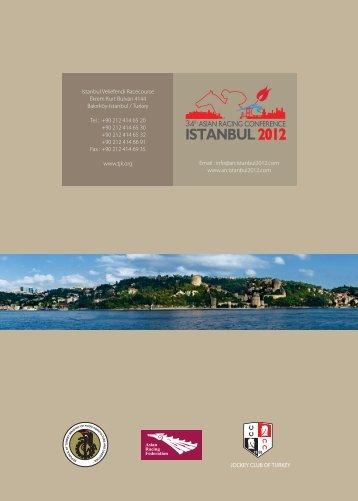 Conference Handbook - ARC ISTANBUL 2012