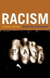 Racism - A Short History - George M Fredrickson.pdf - WNLibrary
